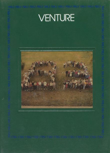 1983 Colchester High School Yearbook Cover