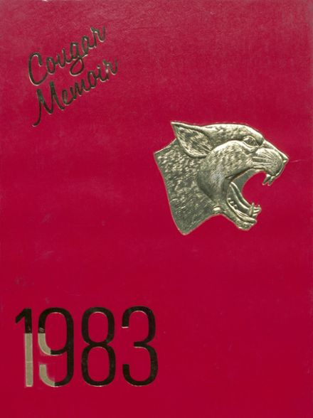 1983 Charleroi High School Yearbook Cover