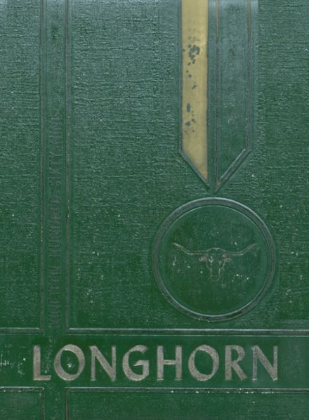 1969 Stonewall High School Yearbook Cover