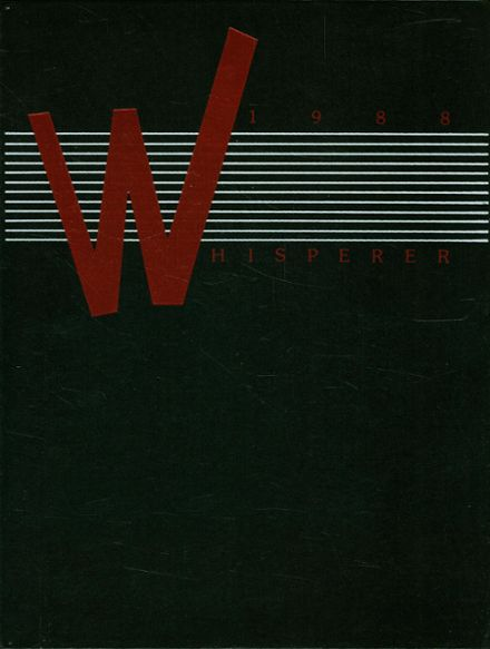 1988 Wadsworth High School Yearbook Cover