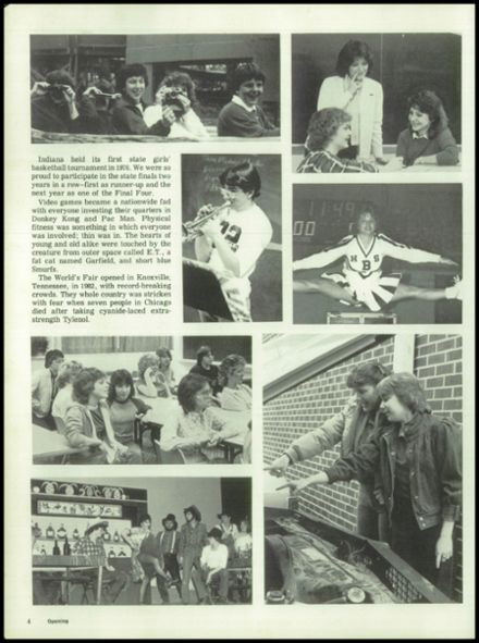1983 Bloomfield High School Yearbook Page 8
