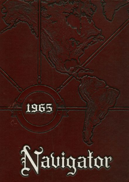 1965 Severn School Yearbook Cover
