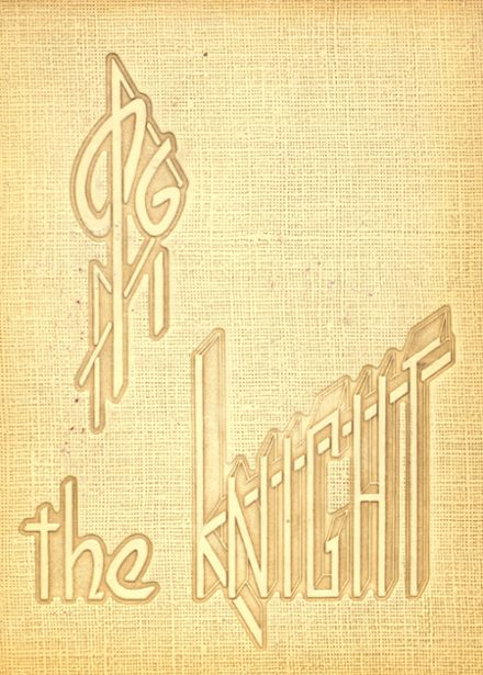 1961 Mater Dei Catholic High School Yearbook Cover
