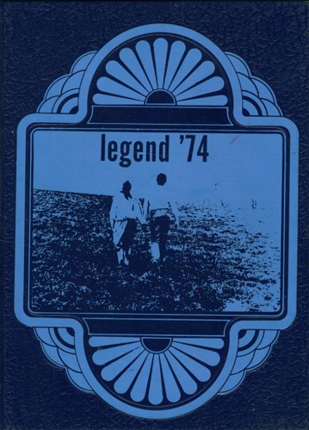 1974 Oakland Craig High School Yearbook Cover