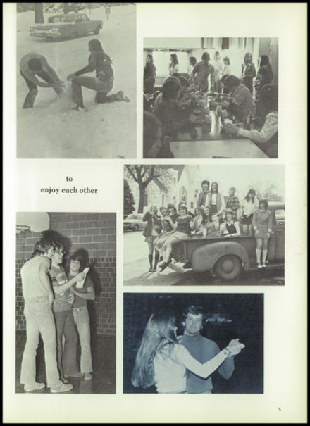 1974 Oakland Craig High School Yearbook Page 9