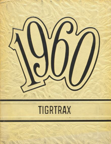 1960 Richwood High School Yearbook Cover