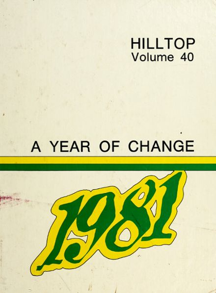 1981 Hapeville High School Yearbook Cover