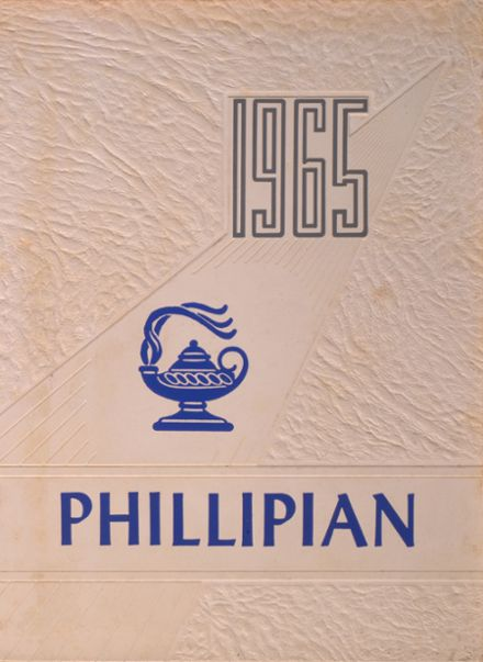 1965 Phillips High School Yearbook Cover