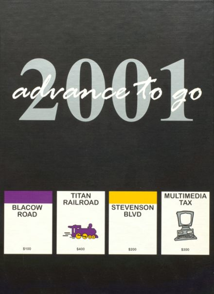 2001 Kennedy High School Yearbook Cover