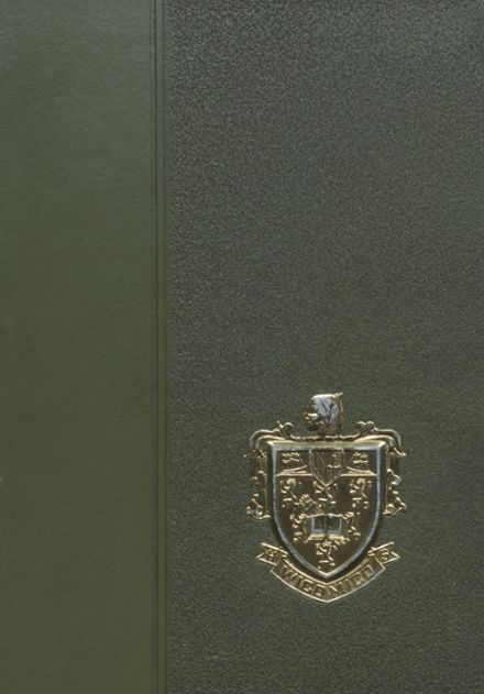 1970 Wicomico High School Yearbook Cover