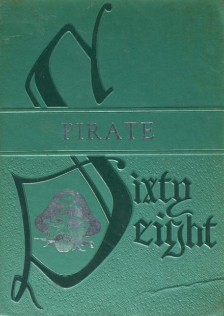 1968 Rockport-Fulton High School Yearbook Cover