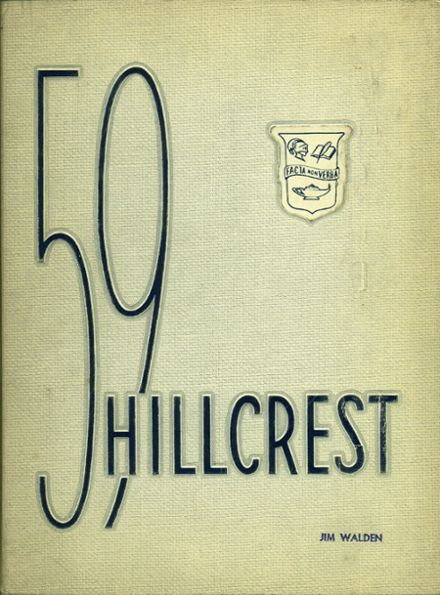 1959 Bloomfield Hills High School Yearbook Cover