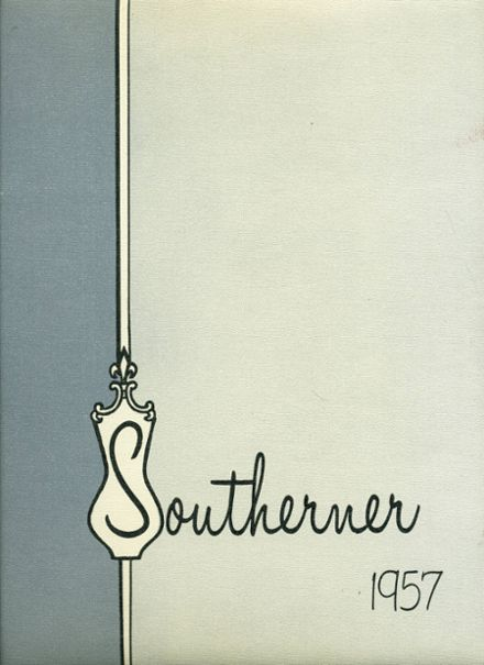 1957 South High School Yearbook Cover