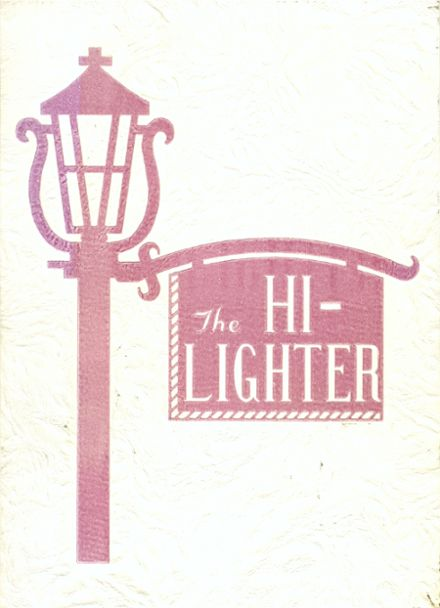 1958 Boonsboro High School Yearbook Cover