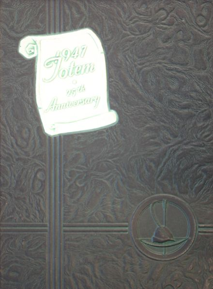 1947 South Side High School Yearbook Cover