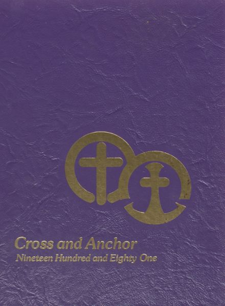 1981 Academy of The Holy Cross Yearbook Cover