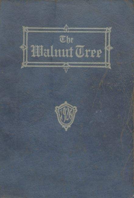 1926 Walnut Community High School Yearbook Cover