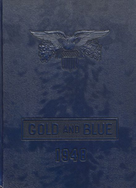 1948 Mitchell High School Yearbook Cover