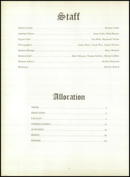 1968 Mt. Assumption Institute Yearbook Page 6