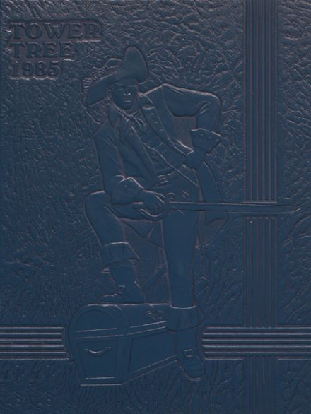 1985 Greensburg High School Yearbook Cover