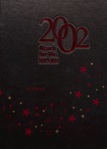 2002 Elyria High School Yearbook Cover
