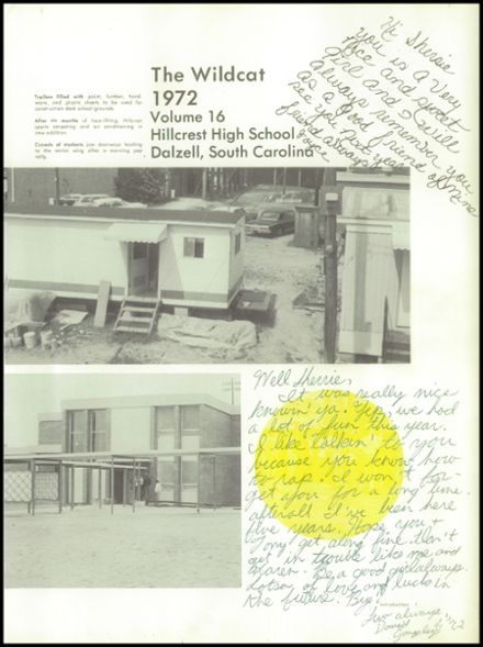 1972 Hillcrest High School Yearbook Page 5