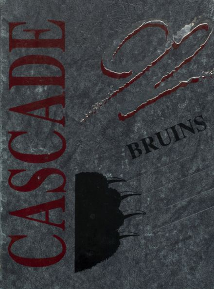 1992 Cascade High School Yearbook Cover