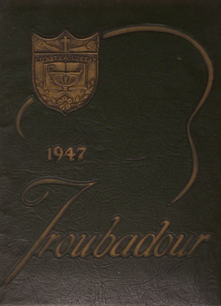 1947 Catholic High School of Baltimore Yearbook Cover