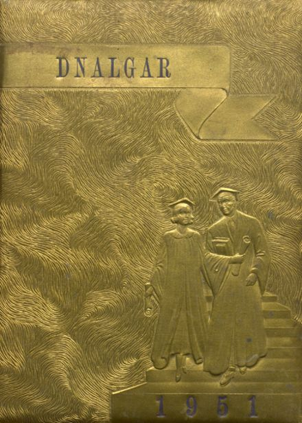 1951 Ragland High School Yearbook Cover