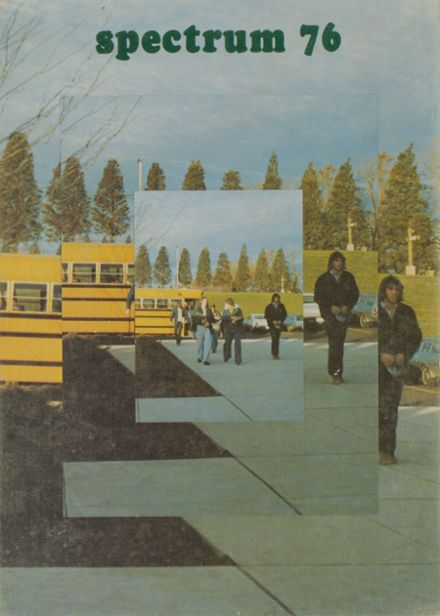 1976 Greenfield High School Yearbook Cover