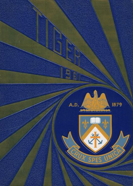 1961 Holy Cross High School Yearbook Cover