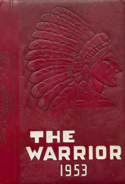 1953 Oaks-Mission High School Yearbook Cover