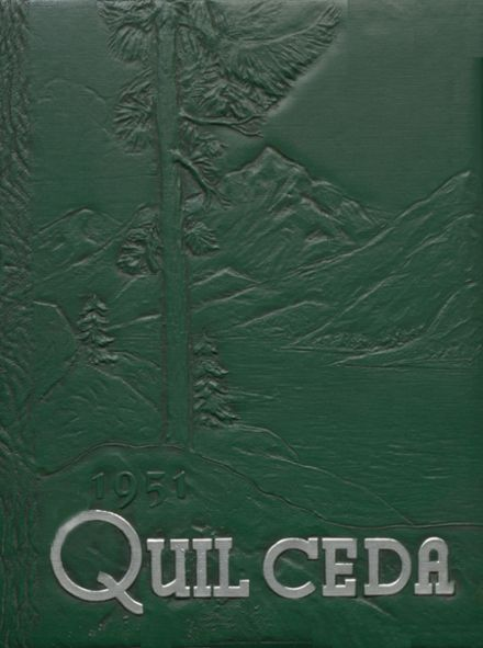 1951 Marysville High School Yearbook Cover