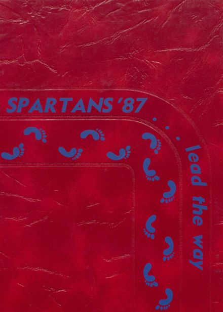 1987 Bixby High School Yearbook Cover