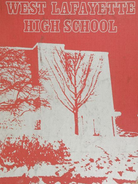 1976 West Lafayette High School Yearbook Cover