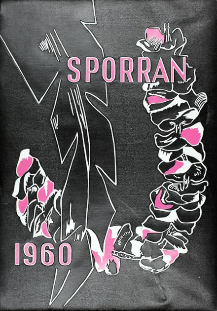 1960 Shadle Park High School Yearbook Cover