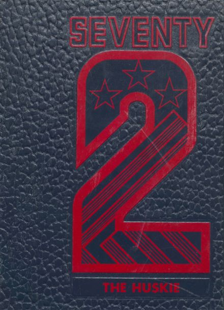 1972 Mason City High School Yearbook Cover