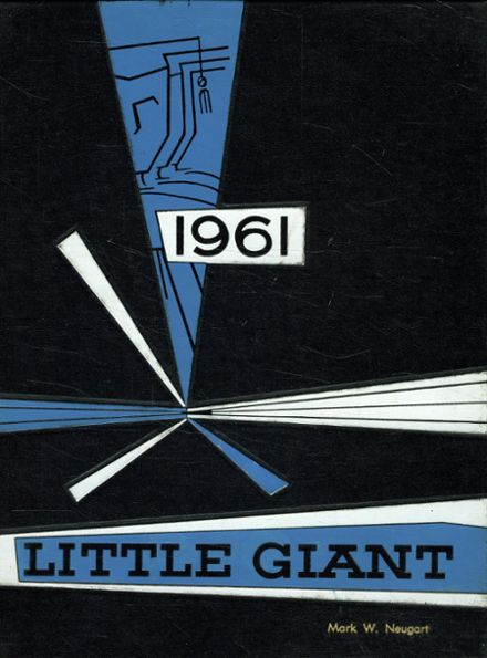 1961 Highland Park High School Yearbook Cover