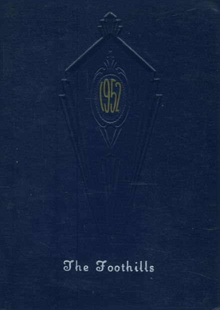 1952 Allegany Central School Yearbook Page 1