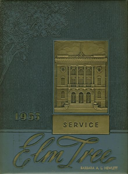 1953 Hillhouse High School Yearbook Cover