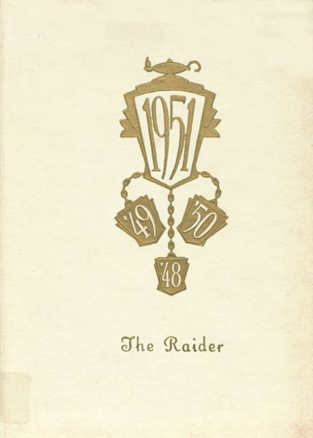 1951 Mead High School Yearbook Cover