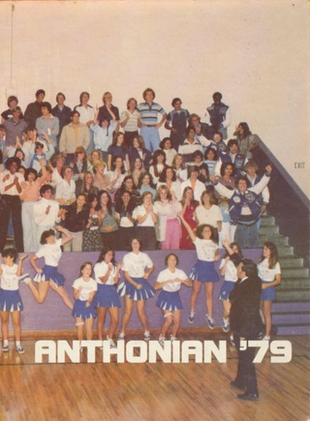 1979 St. Anthony High School Yearbook Cover