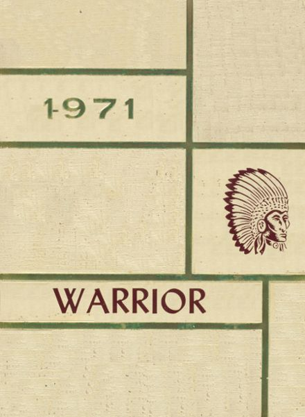 1971 Oaks-Mission High School Yearbook Cover