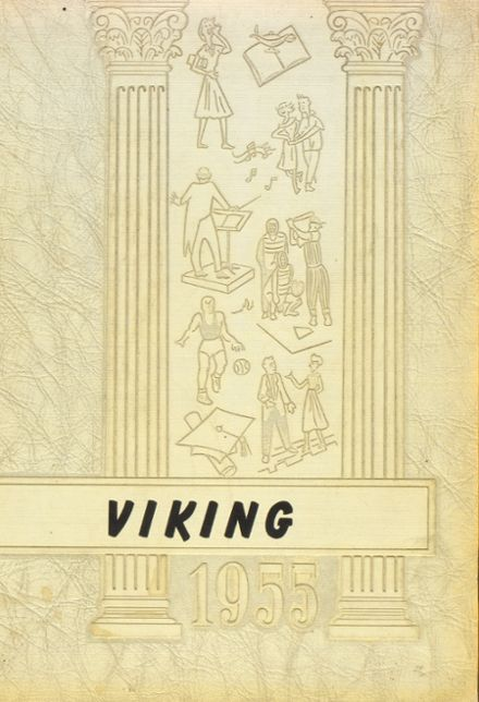 1955 Spring Grove High School Yearbook Cover