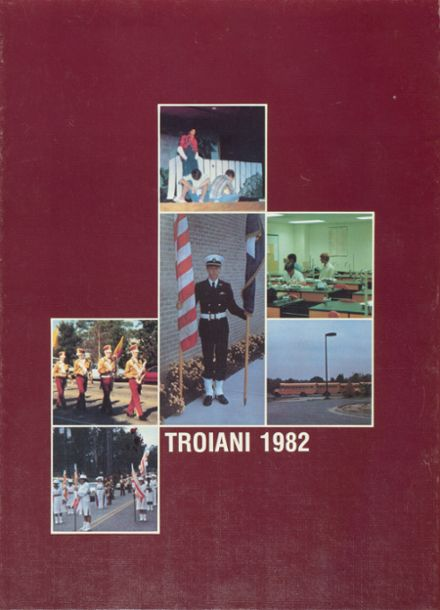 1982 Harnett Central High School Yearbook Cover