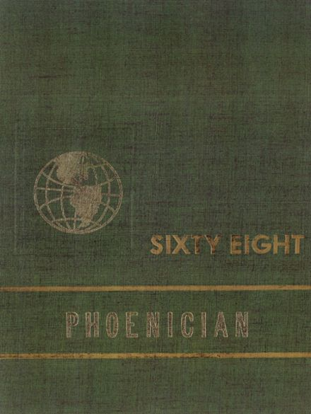 1968 Phoenix Union High School Yearbook Cover