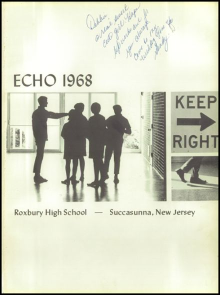 1968 Roxbury High School Yearbook Page 5