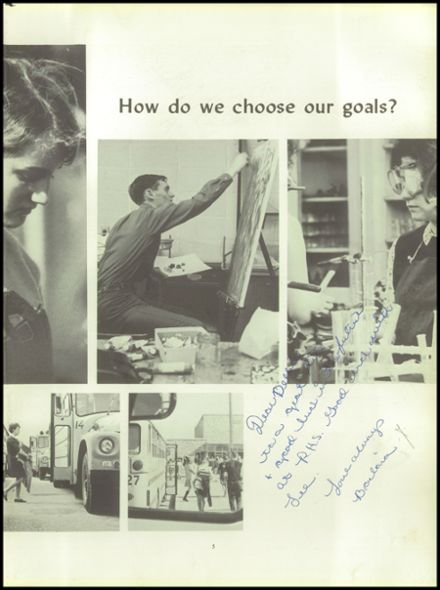 1968 Roxbury High School Yearbook Page 9