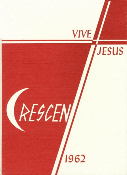 1962 Visitation Academy Yearbook Cover
