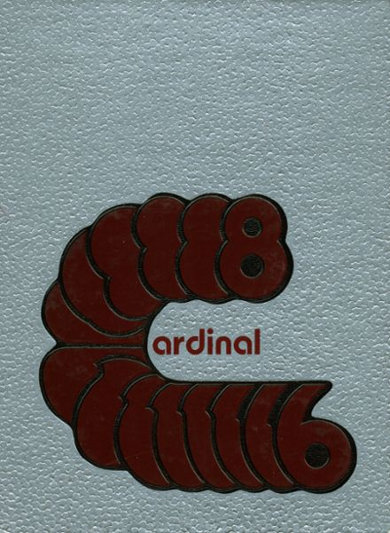 1986 East Central High School Yearbook Cover